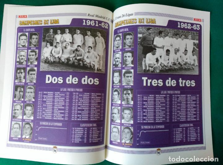 Coleccionismo deportivo: REAL MADRID DE 1928 A 1995 - 7 FASCICULOS - VER DESCRIPCION Y FOTOGRAFIAS - Foto 22 - 126168775