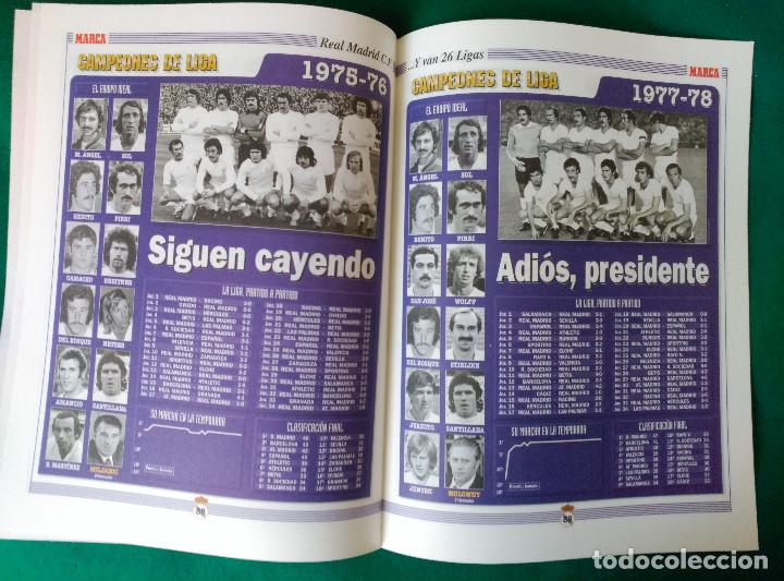 Coleccionismo deportivo: REAL MADRID DE 1928 A 1995 - 7 FASCICULOS - VER DESCRIPCION Y FOTOGRAFIAS - Foto 31 - 126168775
