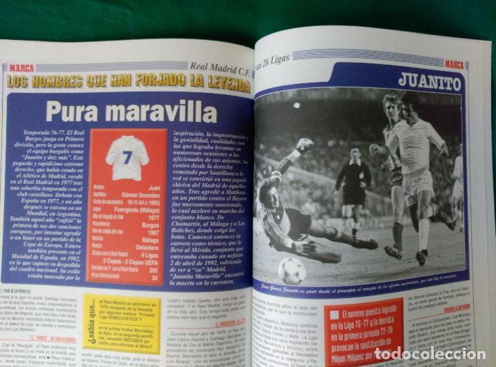 Coleccionismo deportivo: REAL MADRID DE 1928 A 1995 - 7 FASCICULOS - VER DESCRIPCION Y FOTOGRAFIAS - Foto 32 - 126168775