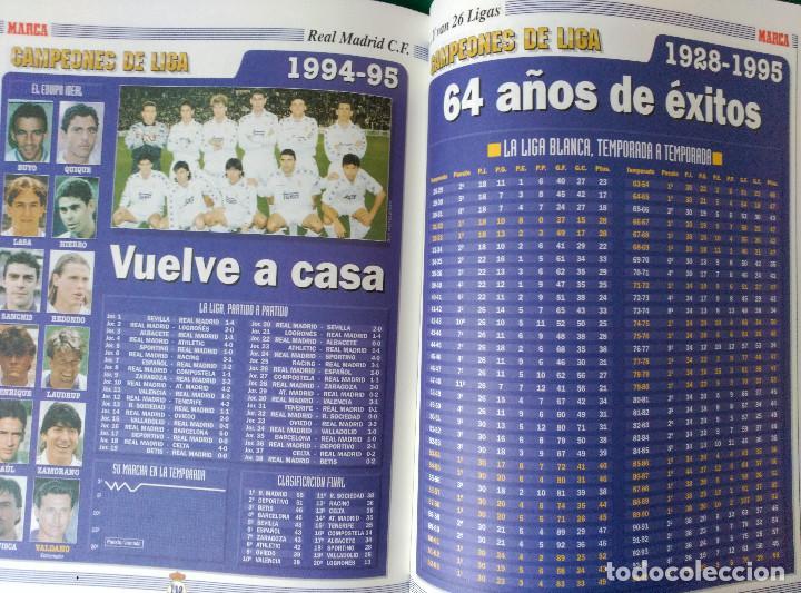 Coleccionismo deportivo: REAL MADRID DE 1928 A 1995 - 7 FASCICULOS - VER DESCRIPCION Y FOTOGRAFIAS - Foto 37 - 126168775
