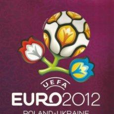 Coleccionismo deportivo: ALBUM PANINI. - UEFA EURO 2012 (GERMAN EDITION) - COL. COMPLETA / COMPLETE COL. #. Lote 126172907