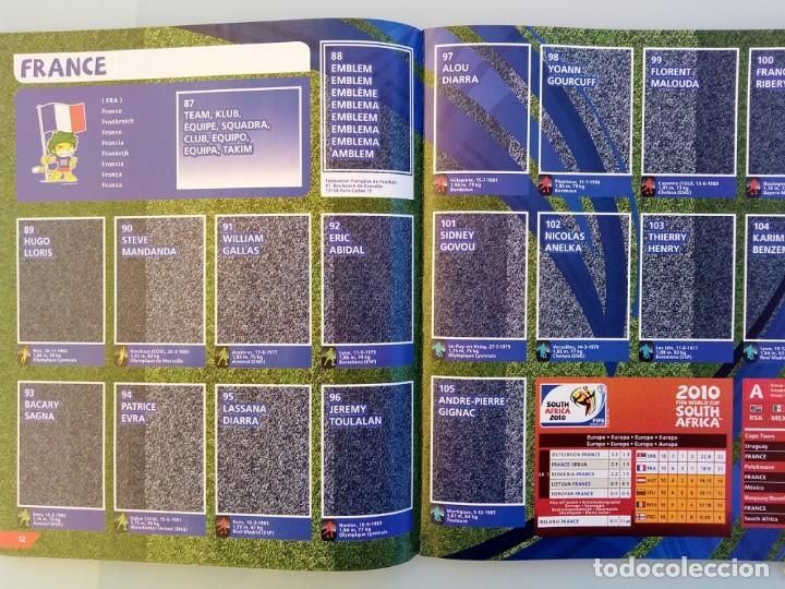Coleccionismo deportivo: ALBUM PANINI. - FIFA WORLD CUP SOUTH AFRICA 2010 - Col. Completa / Complete Col.# - Foto 3 - 148410728