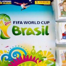 Coleccionismo deportivo: ALBUM PANINI. - FIFA WORLD CUP BRAZIL 2014 - COL. COMPLETA / COMPLETE COL.#. Lote 148410645