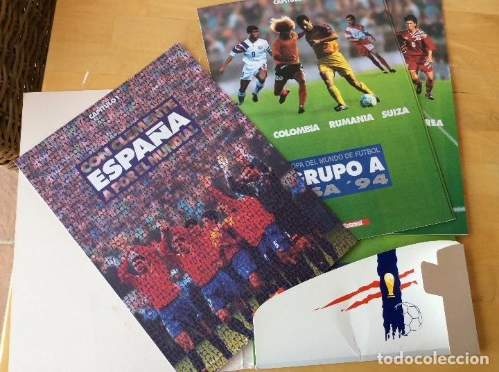 Coleccionismo deportivo: Usa 94. Copa del mundo de fútbol.COMPLETO - Foto 2 - 126186343