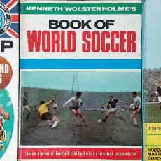 Coleccionismo deportivo: LOTE DE TRES FANTÁSTICOS LIBROS DE FUTBOL, ALL STARS FOOTBALL BOOK, BOOK OF WORLD SOCCER & WORLD CUP. Lote 126533771