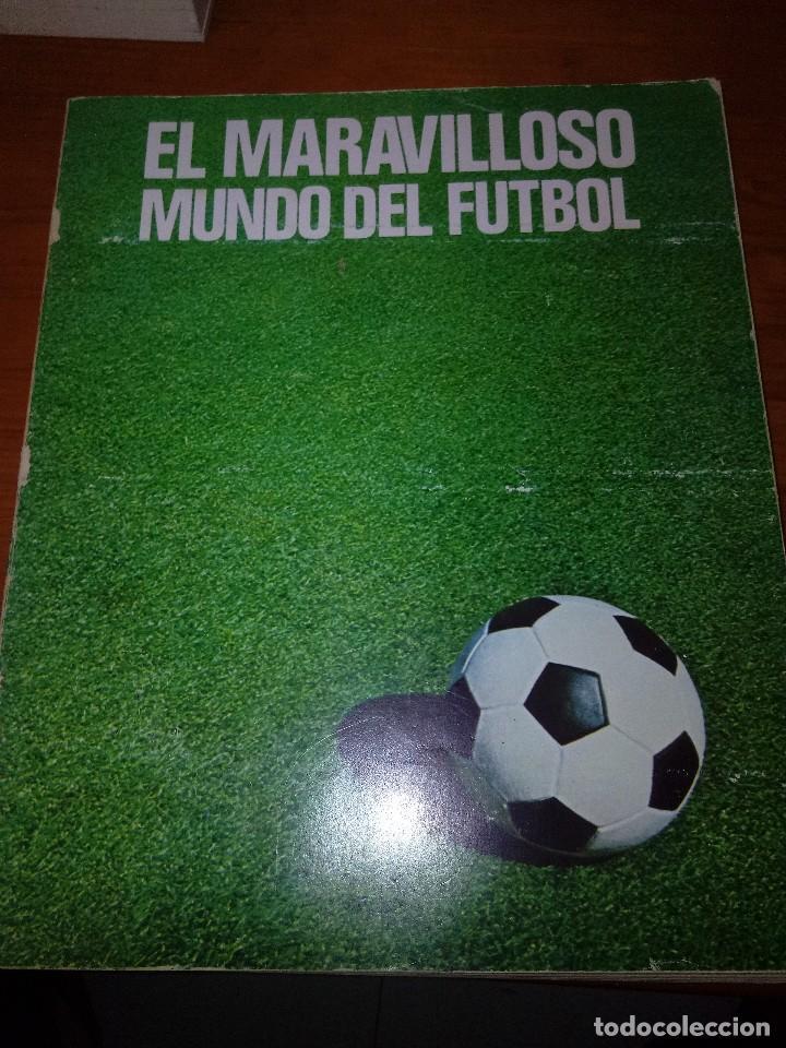 EL MARAVILLOS MUNDO DEL FUTBOL. 1976. EST23B4 (Coleccionismo Deportivo - Libros de Fútbol)