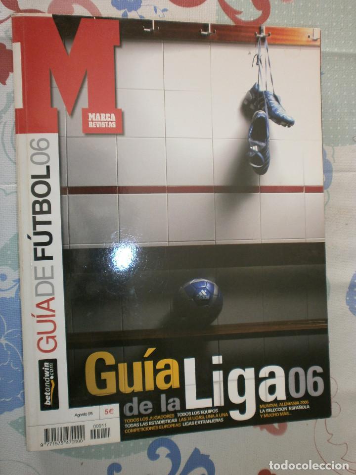 LOTE GUÍA DE LA LIGA '05 - '06 MARCA (Coleccionismo Deportivo - Libros de Fútbol)
