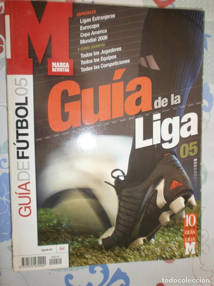 Coleccionismo deportivo: Lote Guía de La Liga 05 - 06 Marca - Foto 2 - 127107747