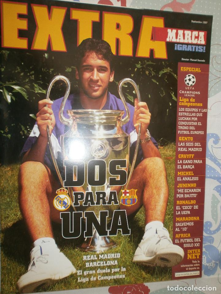 EXTRA MARCA SEPTIEMBRE 1997 (Coleccionismo Deportivo - Libros de Fútbol)