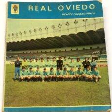 Coleccionismo deportivo: AÑO 1972 - VÁZQUEZ-PRADA, RICARDO. REAL OVIEDO - LIBRO FÚTBOL. Lote 127238547