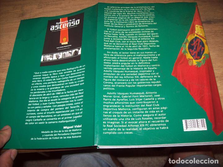 Coleccionismo deportivo: R. S. ALFONSO XIII . LA CARA OCULTA DEL REAL CD MALLORCA (1916-1931). JUAN C. PASAMONTES. 2010. - Foto 25 - 223646276