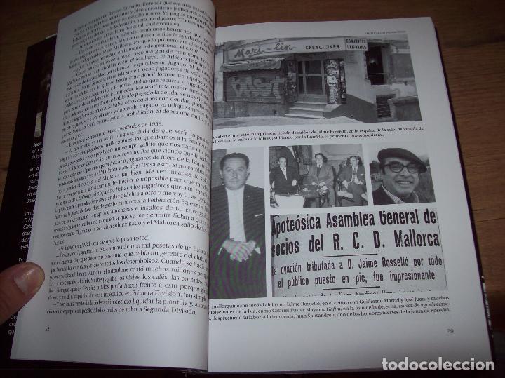 Coleccionismo deportivo: RADIOGRAFÍA DE UN ASCENSO. 50 AÑOS DEL RCD MALLORCA EN PRIMERA DIVISIÓN. J.C. PASAMONTES. 2010. - Foto 4 - 223646161