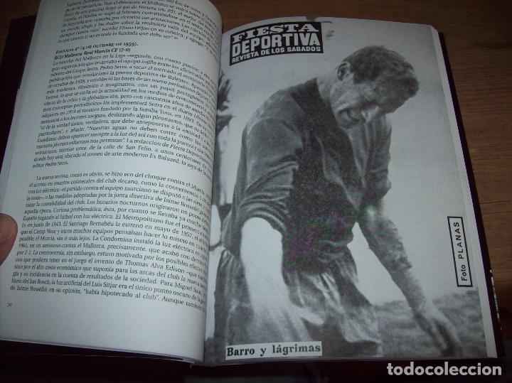 Coleccionismo deportivo: RADIOGRAFÍA DE UN ASCENSO. 50 AÑOS DEL RCD MALLORCA EN PRIMERA DIVISIÓN. J.C. PASAMONTES. 2010. - Foto 11 - 223646161