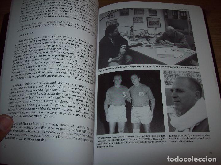 Coleccionismo deportivo: RADIOGRAFÍA DE UN ASCENSO. 50 AÑOS DEL RCD MALLORCA EN PRIMERA DIVISIÓN. J.C. PASAMONTES. 2010. - Foto 12 - 223646161