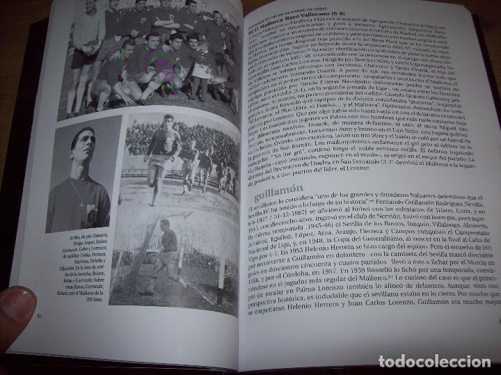 Coleccionismo deportivo: RADIOGRAFÍA DE UN ASCENSO. 50 AÑOS DEL RCD MALLORCA EN PRIMERA DIVISIÓN. J.C. PASAMONTES. 2010. - Foto 13 - 223646161