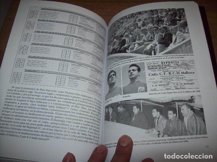 Coleccionismo deportivo: RADIOGRAFÍA DE UN ASCENSO. 50 AÑOS DEL RCD MALLORCA EN PRIMERA DIVISIÓN. J.C. PASAMONTES. 2010. - Foto 14 - 223646161