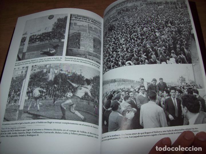 Coleccionismo deportivo: RADIOGRAFÍA DE UN ASCENSO. 50 AÑOS DEL RCD MALLORCA EN PRIMERA DIVISIÓN. J.C. PASAMONTES. 2010. - Foto 17 - 223646161