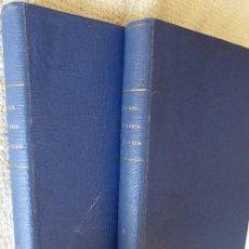 Coleccionismo deportivo: L-.4918. FUTBOL. HISTORIA DE LA LIGA. 2 VOLUMENES. AÑO 1970. LIGA DE 1928-29 A 1969-7. Lote 127864939