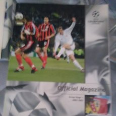 Coleccionismo deportivo: CHAMPIONS LEAGUE OFFICIAL MAGAZINE GROUP STAGE 3 -2002-2003. Lote 128235887