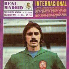 Coleccionismo deportivo: REVISTA REAL MADRID. II ÉPOCA. NOVIEMBRE 1975. N. 306. 25 PTAS.. Lote 128432195