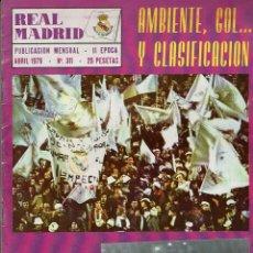 Coleccionismo deportivo: REVISTA REAL MADRID. II ÉPOCA. ABRIL1976. N. 311. 25 PTAS.. Lote 128432747