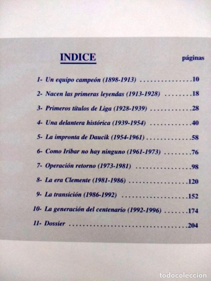 Coleccionismo deportivo: El Libro de Oro del Athletic de Bilbao.1996.Editado por El Correo. - Foto 3 - 128561031