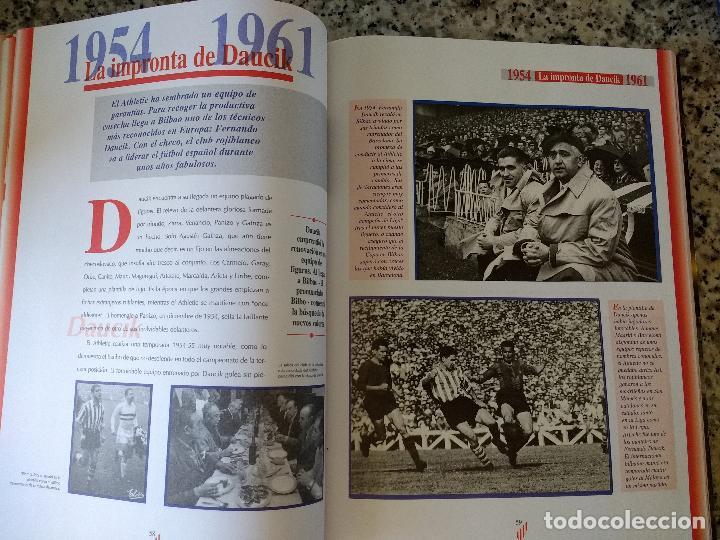 Coleccionismo deportivo: El Libro de Oro del Athletic de Bilbao.1996.Editado por El Correo. - Foto 5 - 128561031