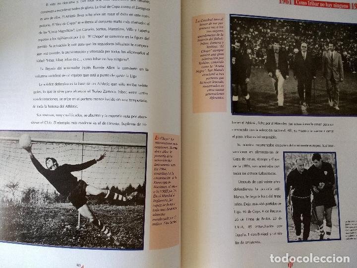 Coleccionismo deportivo: El Libro de Oro del Athletic de Bilbao.1996.Editado por El Correo. - Foto 9 - 128561031