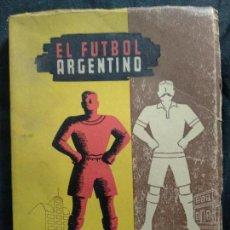 Coleccionismo deportivo: EL FÚTBOL ARGENTINO. EDICIONES NOGAL, 1947, ALFONSO REY. Lote 128930007