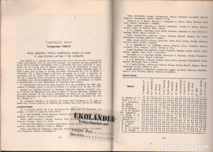 Coleccionismo deportivo: Y LA LIGA (DE FUTBOL) SIGUE (1928-1970). EKL JOSE MANUEL HERNANDEZ. 3ª EDICIÓN 1970 - Foto 4 - 128980027