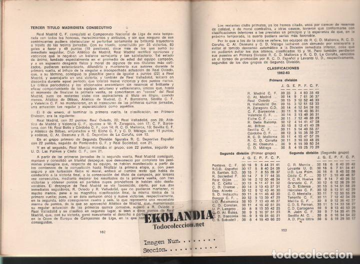 Coleccionismo deportivo: Y LA LIGA (DE FUTBOL) SIGUE (1928-1970). EKL JOSE MANUEL HERNANDEZ. 3ª EDICIÓN 1970 - Foto 6 - 128980027