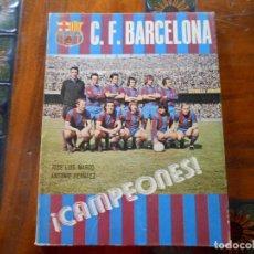 Coleccionismo deportivo: LIBRO CF BARCELONA ¡CAMPEONES!. Lote 129005263