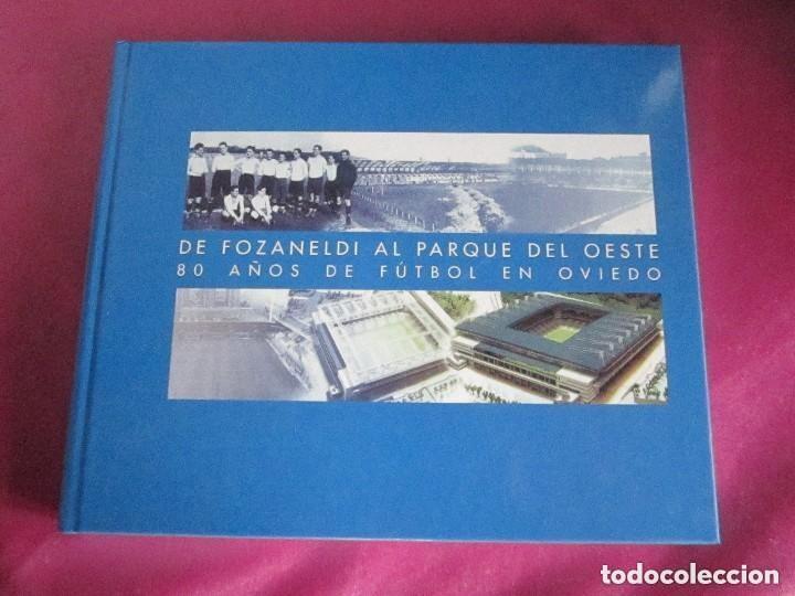 REAL OVIEDO 80 AÑOS DE FUTBOL EN OVIEDO. (Coleccionismo Deportivo - Libros de Fútbol)