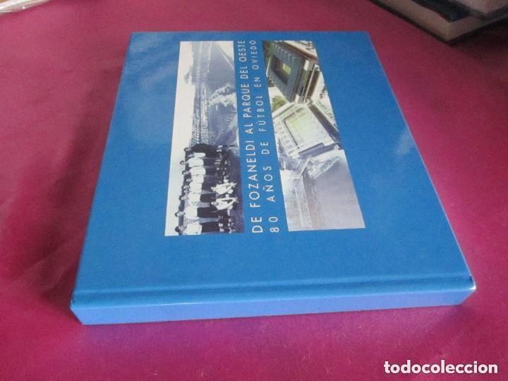 Coleccionismo deportivo: REAL OVIEDO 80 AÑOS DE FUTBOL EN OVIEDO. - Foto 3 - 129079159