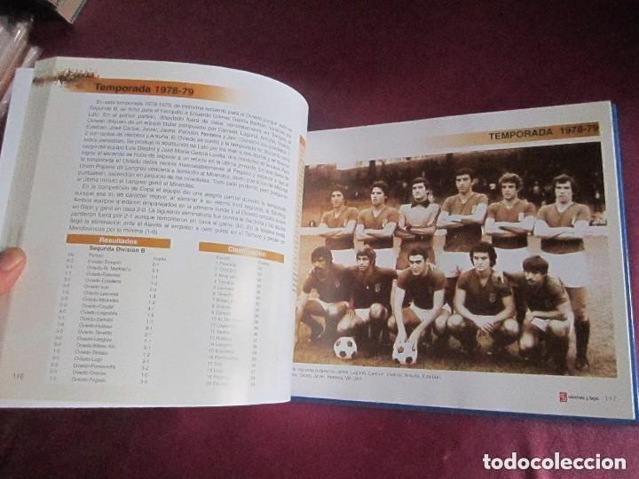 Coleccionismo deportivo: REAL OVIEDO 80 AÑOS DE FUTBOL EN OVIEDO. - Foto 5 - 129079159