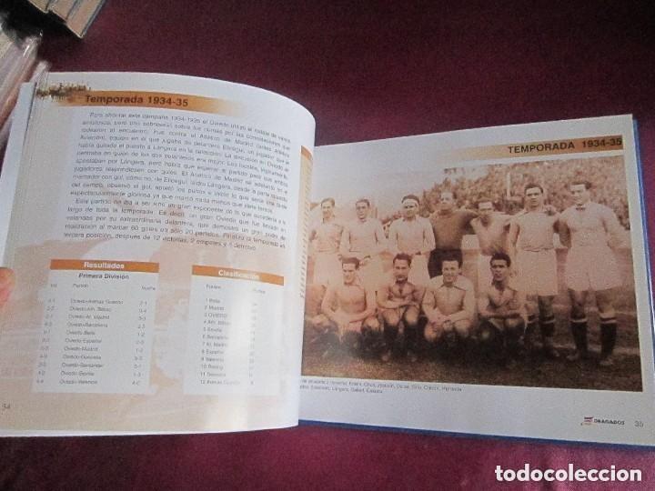 Coleccionismo deportivo: REAL OVIEDO 80 AÑOS DE FUTBOL EN OVIEDO. - Foto 6 - 129079159
