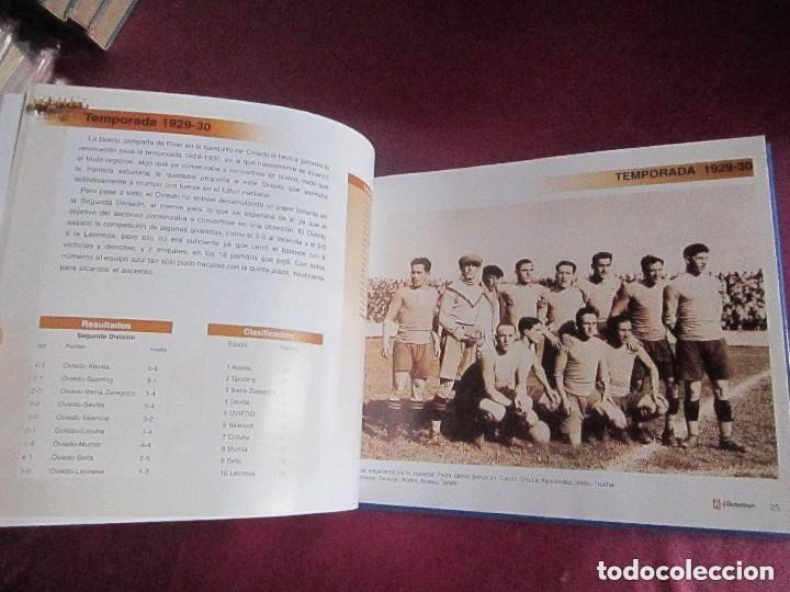 Coleccionismo deportivo: REAL OVIEDO 80 AÑOS DE FUTBOL EN OVIEDO. - Foto 7 - 129079159