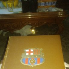 Coleccionismo deportivo: BARSA C.F. LIBRO HISTORIA DEL BARCELONA. 1971. SIN USO. BIEN CONSERVADO. VER FOTOS. Lote 129798399