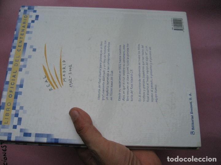 Coleccionismo deportivo: HISTORIA DEL REAL MADRID PARA JOVENES -CAMPEON DE LIGA 2020 -libro oficial del centenario -FUTBOL - Foto 4 - 130230982