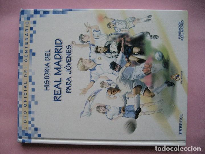 Coleccionismo deportivo: HISTORIA DEL REAL MADRID PARA JOVENES -CAMPEON DE LIGA 2020 -libro oficial del centenario -FUTBOL - Foto 8 - 130230982