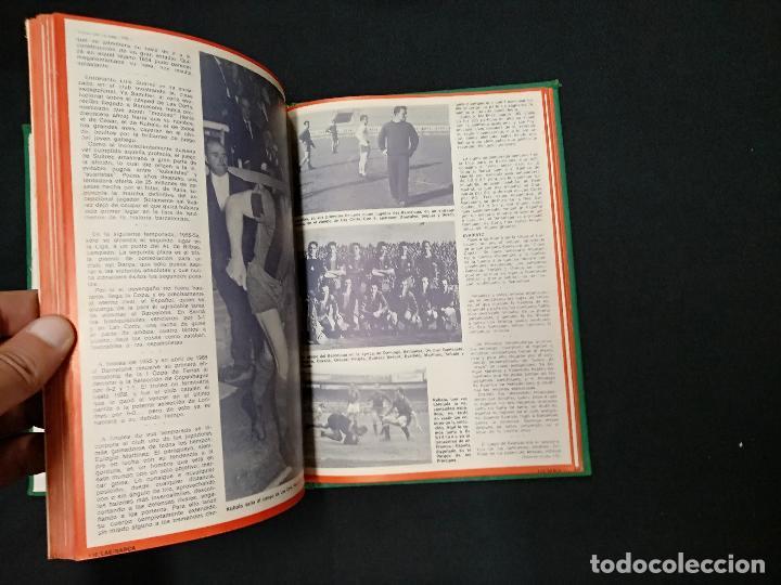Coleccionismo deportivo: 75 AÑOS DEL BARÇA - LAE - LA ACTUALIDAD ESPAÑOLA - COMPLETO 10 FASCICULOS ENCUADERNADOS - Foto 3 - 130313114