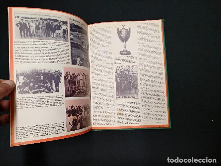 Coleccionismo deportivo: 75 AÑOS DEL BARÇA - LAE - LA ACTUALIDAD ESPAÑOLA - COMPLETO 10 FASCICULOS ENCUADERNADOS - Foto 7 - 130313114