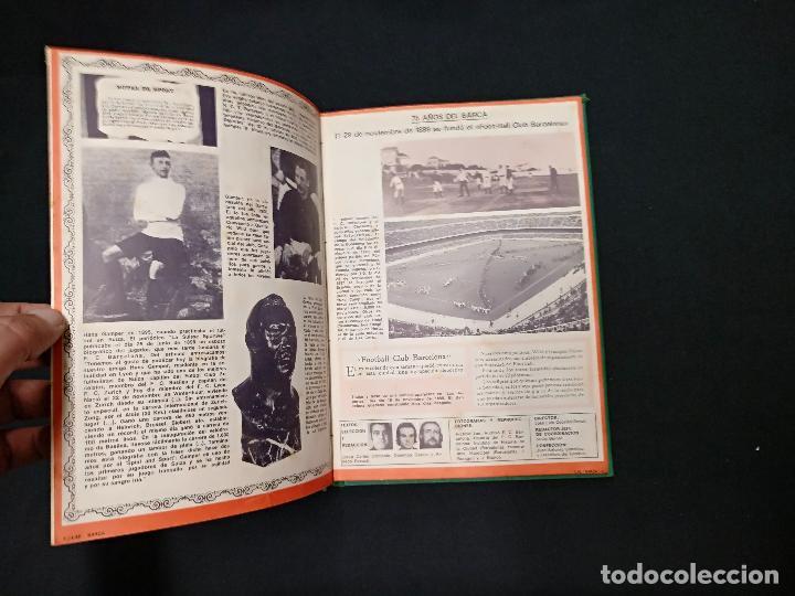 Coleccionismo deportivo: 75 AÑOS DEL BARÇA - LAE - LA ACTUALIDAD ESPAÑOLA - COMPLETO 10 FASCICULOS ENCUADERNADOS - Foto 8 - 130313114