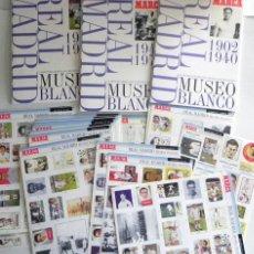Coleccionismo deportivo: MUSEO BLANCO OBRA COMPLETA HISTORIA GRÁFICA DEL REAL MADRID - LIBROS ÁLBUM COMPLETO FÚTBOL DE MARCA. Lote 130589378