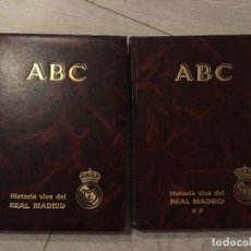 Coleccionismo deportivo: HISTORIA VIVA DEL REAL MADRID. DIARIO ABC. 2 TOMOS. 1986-1987. Lote 130635966