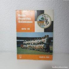 Collectionnisme sportif: LIBRO UNIÓN DEPORTIVA SALAMANCA UDS 1975 1976 CARLOS GIL-PEREZ MAS. Lote 130664158