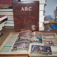 Coleccionismo deportivo: HISTORIA VIVA DEL REAL MADRID. 2 TOMOS. ABC. PRENSA ESPAÑOLA. VER FOTOS. . Lote 130742499