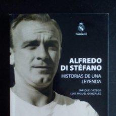 Coleccionismo deportivo: LIBROS ALFREDO DI STEFANO-HISTORIAS DE UNA LEYENDA Y EL NUEVE FUE UN DIEZ. Lote 132077122