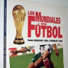 Coleccionismo deportivo: LIBRO LOS MUNDIALES DE FUTBOL - OCEANO. Lote 132088770
