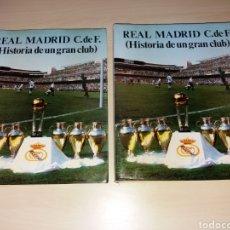 Coleccionismo deportivo: REAL MADRID C.DE F. - HISTORIA DE UN GRAN CLUB. Lote 132286085